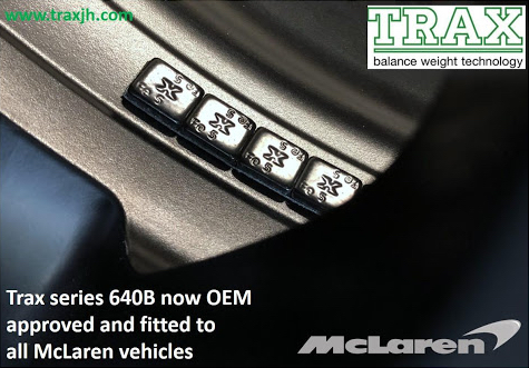 OEM approved and fitted with McLaren vehicles