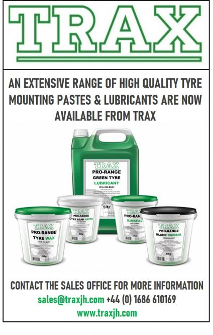 Trax mounting consumable products