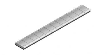 602C Universal Klebe-Riegel – 60g mit grauer Beschichtung