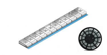 605E-SP Standard Klebegewichtsrolle 5 kg