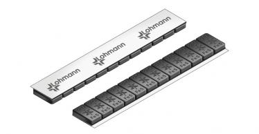 614B Universal Professional Klebe-Riegel – 60g, 12x5g Schwarz kunststoff-beschichtet