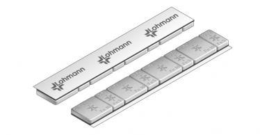 615C Universal Professional Klebe-Riegel – 60g, 4x5g & 4x10g Grau kunststoff-beschichtet