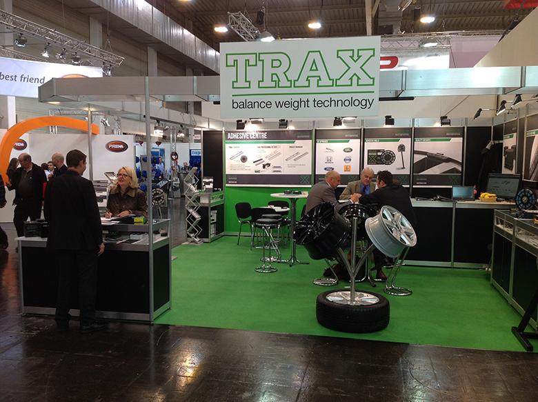 Trax show in Reifen